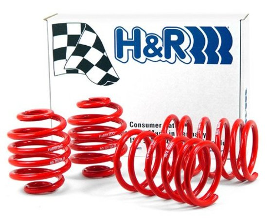"T#12062 - 28999-1 - H&R Sport Spring Set - F01 740i - Lowers 1.6"" in Front and 1.5"" in RearProvides superior ride and maximum loweringEnhance the look of your vehicle with a reduced fender well gap. H&R Sport Springs lower the vehicle center of gravity and reduce body roll for better handling. The progressive spring rate design provides superb ride quality and comfort. A lower wind resistance signature will make the vehicle more streamlined and improve gas mileage. If you are only looking to improve one part of your vehicles suspension, you cannot go wrong with installing Sport Springs. Fun to drive, H&R Sport Springs are the number one upgrade for your vehicle.Customer Feedback: ""I really like them. It takes the bouncy, Cadillac ride away and makes the car feel much more stable. With 30 and 35 profile 20's it's still comfortable. The way they should arrive with the M Sport Package in my opinion. I also have Turner 12 and 15 mm spacers, front and rear and I think the factory mud flaps makes for a more muscular stance. ""This item fits the following BMWs:2009+ F01 BMW 740i with VDC/EDC but not self-leveling - H&R - BMW"