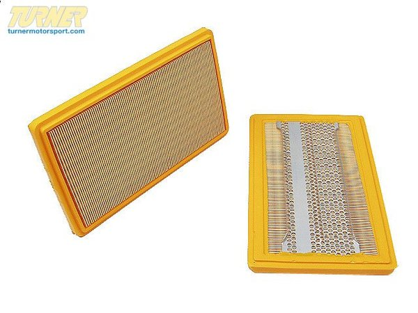 T#7321 - 13721262600 - Air Filter - E21 320i 1977-1979 - Replacement air filter for stock airbox. This is a high quality replacement filter, made by an original equipment manufacturer (OEM) such as Mahle or Mann. This item fits the following BMWs:1977-1979  E21 BMW 320i  1977-1982  E21 BMW 323i  - Mahle - BMW