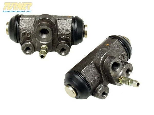 T#8055 - 34211154236 - Rear Wheel Brake Cylinder - E30 318i 1984-1985 - Replace your E30 318i faulty rear wheel brake cylinder with this direct replacement part.  This cylinder is mounted inside the rear brake drum and activates the rear brake shoes on E30 318i with M10 engine.  Sold individually.  This item fits the following BMWs:1984-1985  E30 BMW 318i   - Febi - BMW