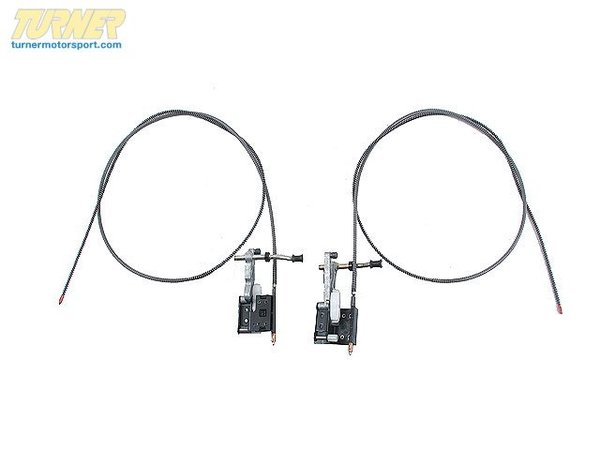 T#10364 - 54121857952 - Genuine BMW Sliding Roof / Folding Top Drive Cable-pair 54121857952 - GENUINE BMW SLIDING ROOF / FOLDING TOP DRIVE CABLE-PAIR 54121857952.--This item fits the following BMWs:BMW 5 Series - 528i, 530i BMW 7 Series - 733i--. - Genuine BMW -
