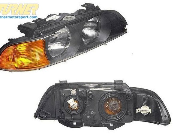 T#18969 - 63128362526 - Headlight Right 63128362526 - HEADLIGHT RIGHT 63128362526Headlight Assembly Fits BMWs: 98-97 BMW 528I; 98-97 540I - Genuine BMW -