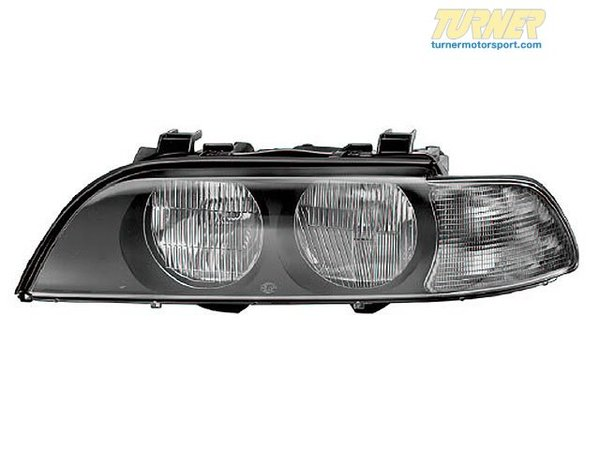 T#18782 - 63138362525 - Headlight Left 63138362525 - HEADLIGHT LEFT 63138362525 Headlight Assembly Fits BMWs: 98-97 BMW 528I; 98-97 540I - Genuine BMW -