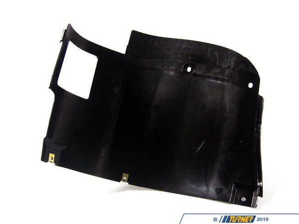 T#10150 - 51718159425 - Spoiler Splash Panel - Left - E39  - This Genuine BMW splash panel provides a transition from the spoiler to the front of the wheel well.This item fits the following BMWs:1997-2000  E39 BMW 528i 540i  - Genuine BMW - BMW