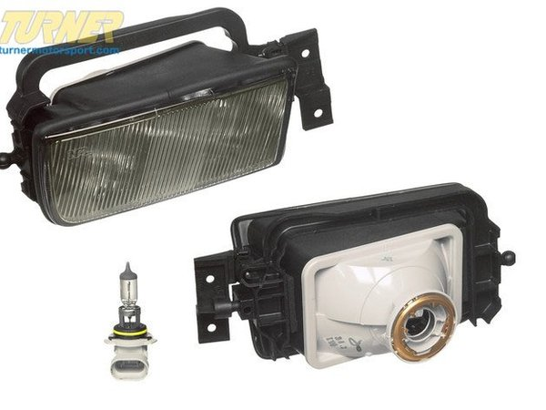 T#4613 - 63178360946 - Fog Light - Right - E34  1991-12/1993 - This is a Genuine BMW replacement right (passengers side) fog light for E34 5 series. Has your fog light cracked or filled with moisture? Replace your fog light with this high quality OE BMW fog light. This item fits the following BMWs:1991-12/1993  E34 BMW 525i 530i 535i 540i M5 - Genuine BMW - BMW