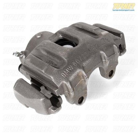 T#5729 - 34111160368R - Brake Caliper - Rebuilt - Front Right - E34 525i, 530i, 535i - Our rebuilt calipers start off with an original BMW caliper that is fully disassembled thoroughly inspected and carefully processed. All threads are chased, all groves are meticulously cleaned and checked. Pistons are replaced if any dents or scratches are found. All rubber components and hardware are replaced with new OE quality parts. The units are then air pressure tested and submitted to a thorough final inspection.Price includes $35 core charge - Centric - BMW