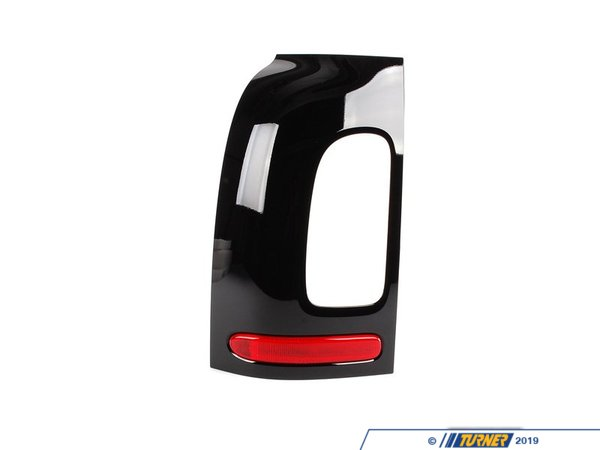 T#80165 - 51137240231 - Genuine Mini Tail Light Finisher, Left - 51137240231 - Schwarz - Genuine Mini -