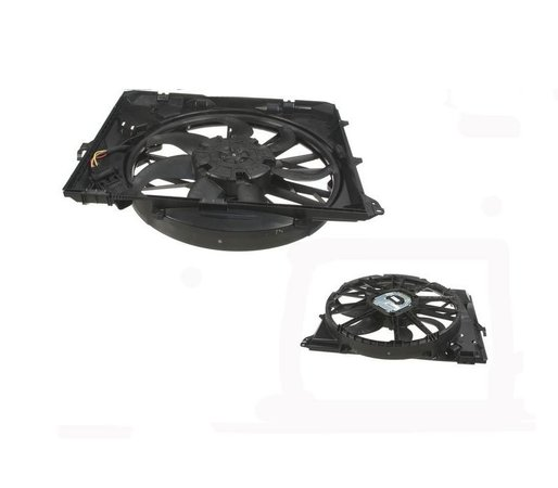 T#47107 - 17427562080 - OEM BMW Electric Engine Fan - E82 E90 E92 E93 - ACM -