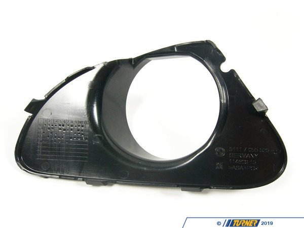 T#76075 - 51117055525 - Genuine BMW Cover, Fog Lamp, Left - 51117055525 - E63 - Genuine BMW -