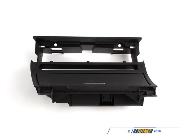 T#8962 - 51167001410 - Center Console / Radio Mounting Bracket - E46  - Genuine BMW center console radio bracket / A/C relocation panel for use with Nav system or double DIN stereo. 51167001410 . For cars with Smokers Package with lighted ashtray. This part was originally for Left Hand Drive models only. This bracket has one long opening above the ashtray for the DSC, seat heating buttons. If you are looking for the version with individual button openings check 51168230902This item fits the following BMWs:2000-2005  E46 BMW 323i 323ci 325i 325ci 325xi 328i 328ci 330i 330ci 330xi M3 - Genuine BMW - BMW