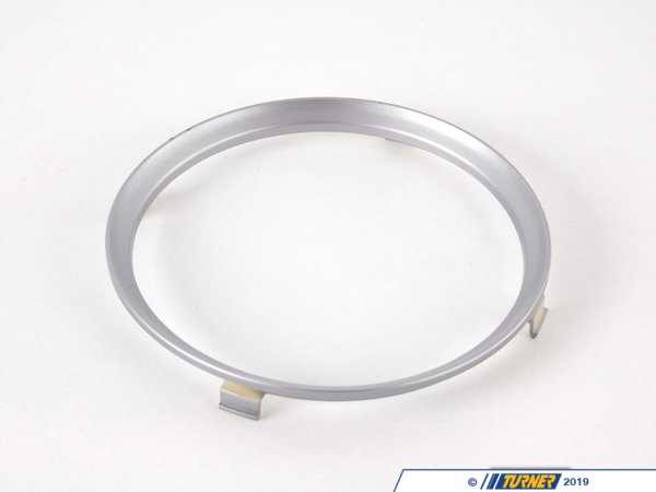 T#82367 - 51162756171 - Genuine MINI Trim Ring, Drink Holder, Rear Silver - 51162756171 - Genuine Mini -