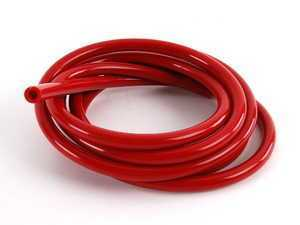 6MM Silicone Vacuum Hose - Red - 9 Feet