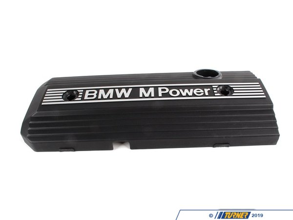 "T#19429 - 11121404466 - Engine Cover ""M Power"" - E36 M3 S52 1996-1999 - Genuine BMW -"
