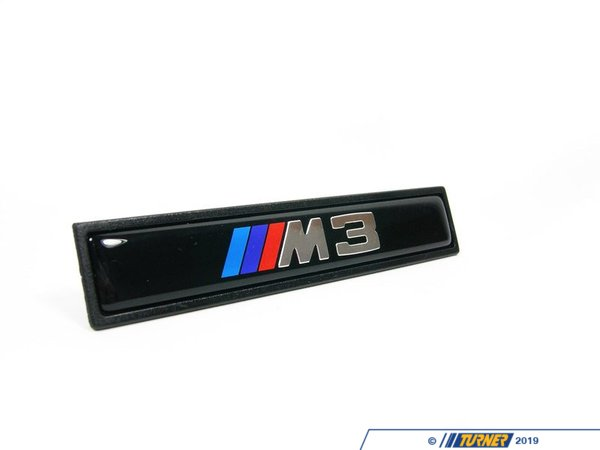 T#8651 - 51132251381 - Genuine BMW Badge - M3 - 51132251381 - E36 M3 - Genuine BMW -