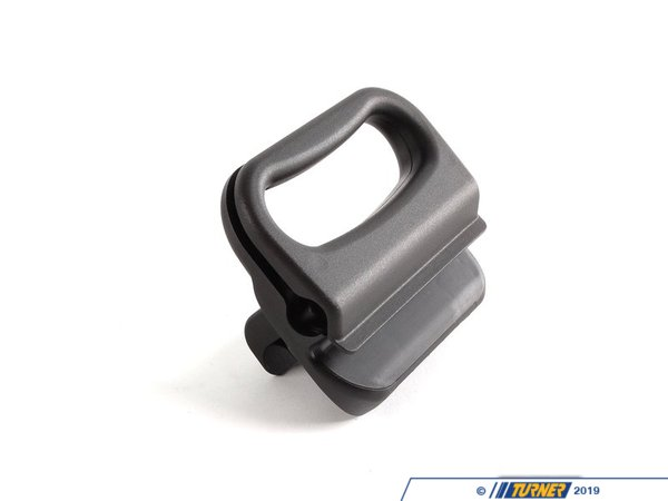 T#9911 - 51473419534 - Cargo Cover Handle - E83 X3  - Replace the damaged or missing cargo area roller cover handle with this Genuine BMW part.  This item fits the following BMWs:2004-2010  E83 BMW X3 2.5i X3 3.0i X3 3.0si - Genuine BMW - BMW