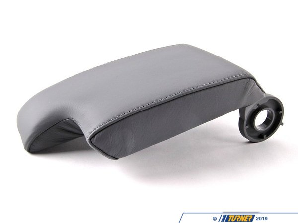 T#84713 - 51167901351 - Genuine BMW Armrest Upper Leather Grau - 51167901351 - E46,E46 M3 - Genuine BMW -