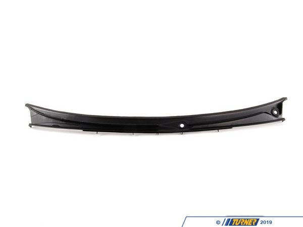 T#2595 - 51718208483 - Windshield Cowl Cover - E46 Sedan - This items is either referred to as the Hood Cowl Cover or Windshield Cowl Cover. It is the black plastic cover at the base of the windshield.  It may fade or crack with age. It fits E46 323i 325i 328i 330i 4 door models.  It will not fit E46 Coupes.This item fits the following BMWs:1999-2005  E46 BMW 323i 325i 325xi 328i 330i  330xi - Genuine BMW - BMW