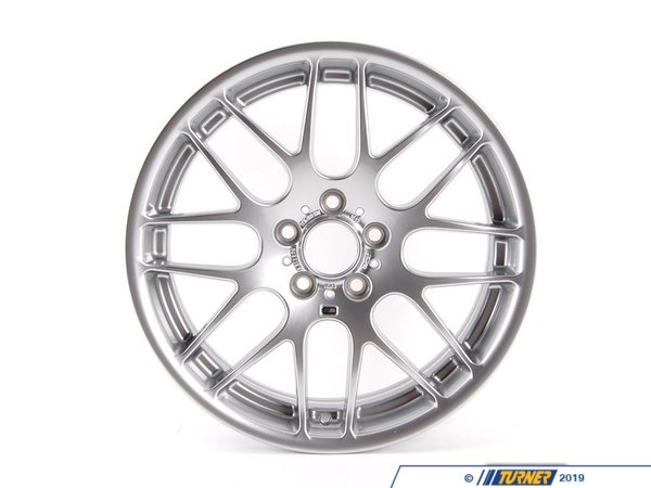 "Genuine BMW Genuine BMW 19"" Front Competition Alloy Wheel - E46 M3 36112282895"