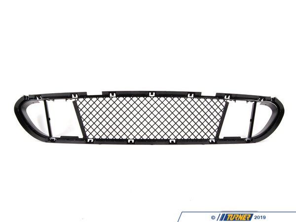 T#76915 - 51117896586 - Lower Center Spoiler Grill - E60 5 series with M technic package - Genuine BMW - BMW