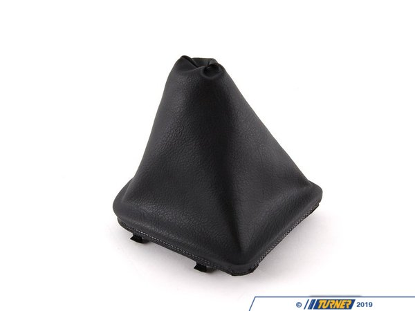 T#7635 - 25111434098 - Genuine BMW Gearshift Imitation Leather Gear Lever 25111434098 - Genuine BMW -