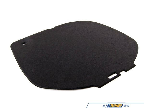 T#111430 - 51477042140 - Genuine BMW Cover, Spare-Wheel Recess Schwarz - 51477042140 - E65 - Genuine BMW -