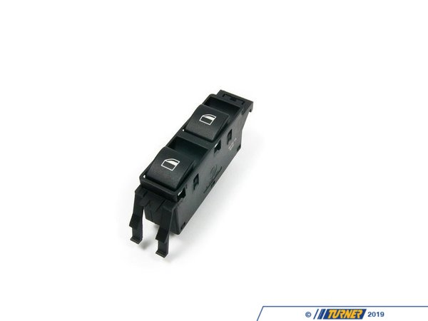 Genuine BMW Window Switch - E46 Sedan - Front Right 61316902179