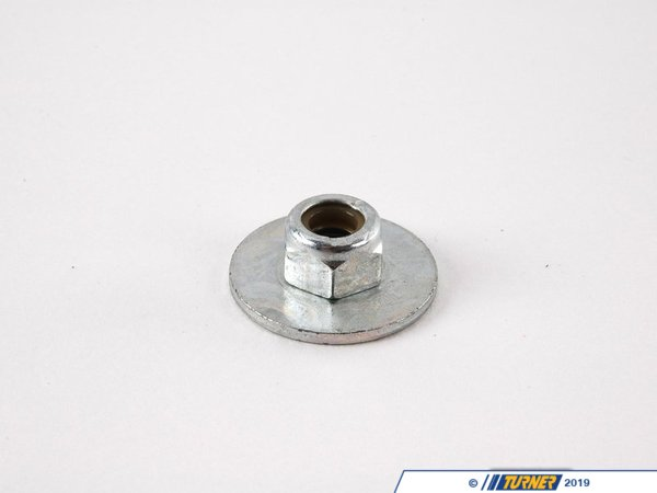 T#29698 - 07147155614 - Genuine BMW Hex Nut With Plate - 07147155614 - Genuine BMW -