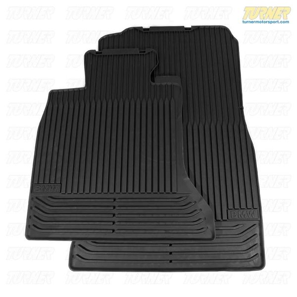 514721537251x Genuine Bmw All Weather Rubber Floor Mats