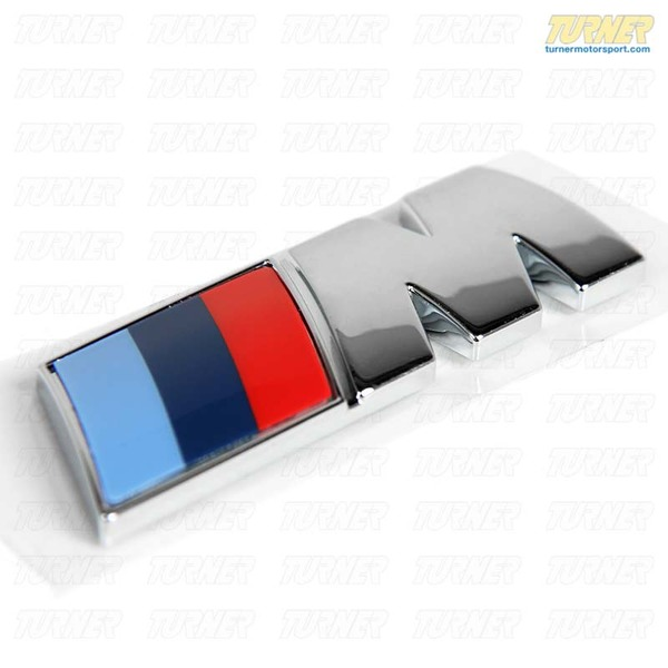 Bmw F01: Motorsport M Side Emblem