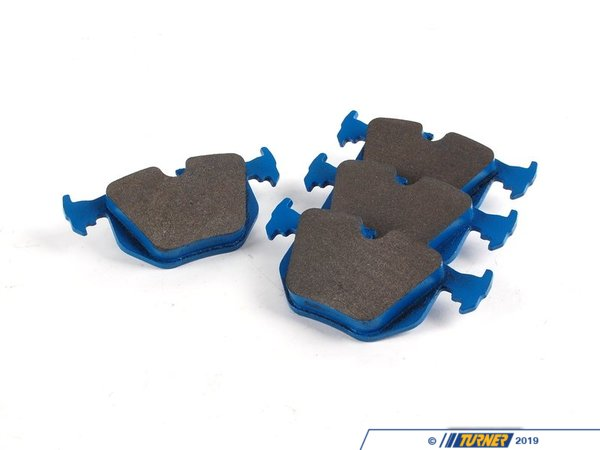 Hawk Hawk Blue Racing Brake Pads - Rear - E39, E46, X5, Z4 M (see description) TMS1169
