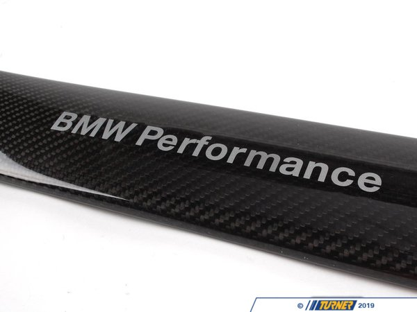 T#3142 - 51710429377 - Genuine BMW Performance Carbon Fiber Strut Brace - E90 E92 325i 328i 330i - Genuine BMW -