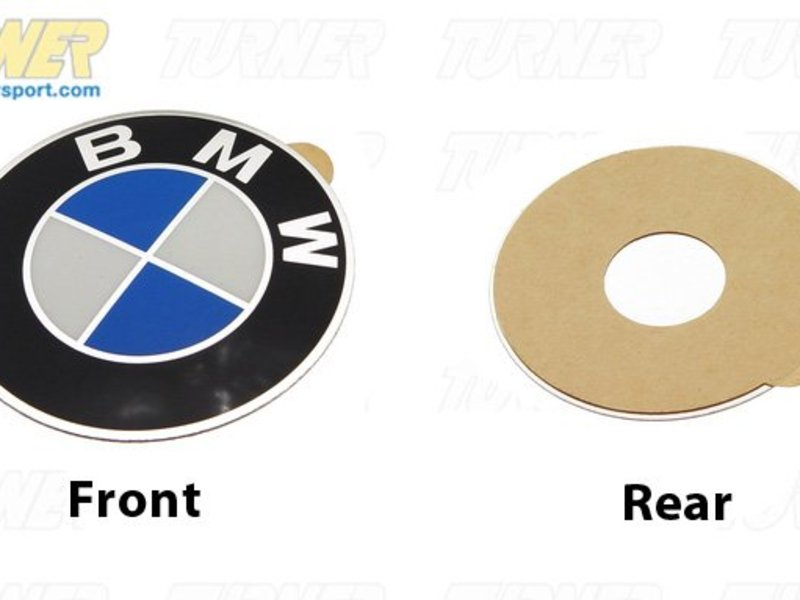 36131181082 Wheel Emblem Adhesive Backed 45mm E30