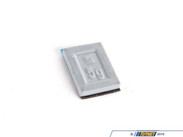 T#66170 - 36116766326 - Genuine BMW Balance Weight, Zinc, W. Adh - 36116766326 - Genuine BMW -