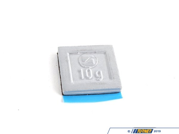 T#66172 - 36116766328 - Genuine BMW Balance Weight, Zinc, W. Adh - 36116766328 - Genuine BMW -