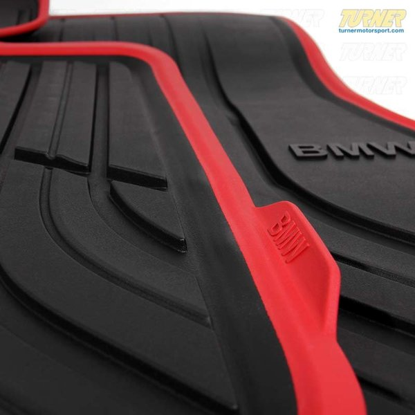 51472348155x Genuine Bmw Rubber Floor Mats F32 428i