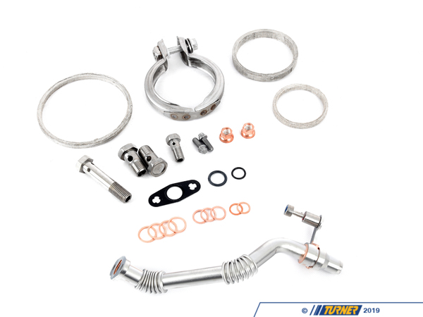 11652456348 - genuine bmw basic turbo installation kit