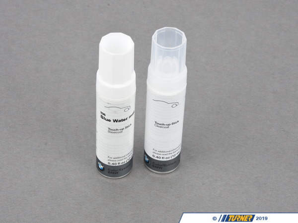 T#10256 - 51910419775 - Genuine BMW Trim Paint Stick Blue Water Met. 51910419775 - Genuine BMW Paint Stick Blue Water Met. - 2X12Ml  896 - Genuine BMW -