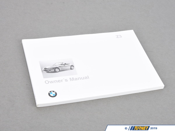 Genuine BMW Genuine BMW Owners manual - Z3 2.8 Z3 1.9 01419789987
