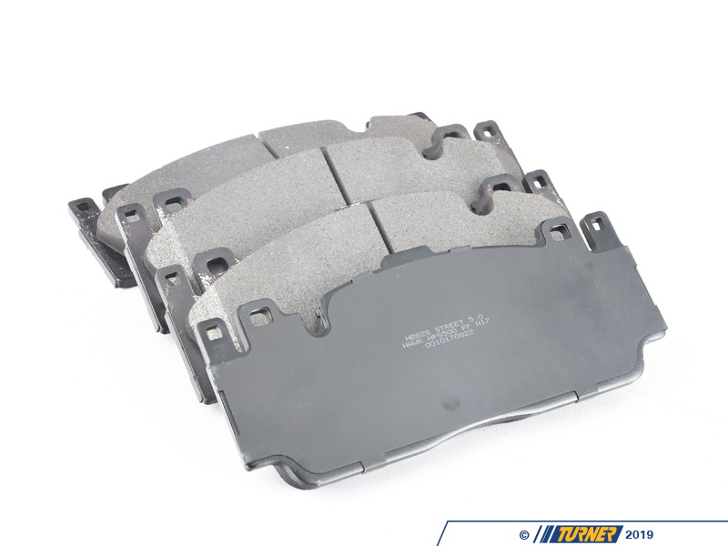 Hb828b 760 Hawk Hps 5 0 Front Brake Pad Set F10 M5