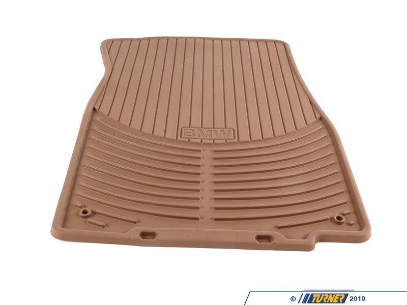 82550151503 Genuine Bmw Set Rubber Mats Front Beige Z4