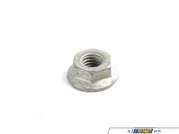 T#53599 - 26111227929 - Genuine BMW Hex Nut With Ribs M8/Sw13 - 26111227929 - E34,E39 - Genuine BMW -