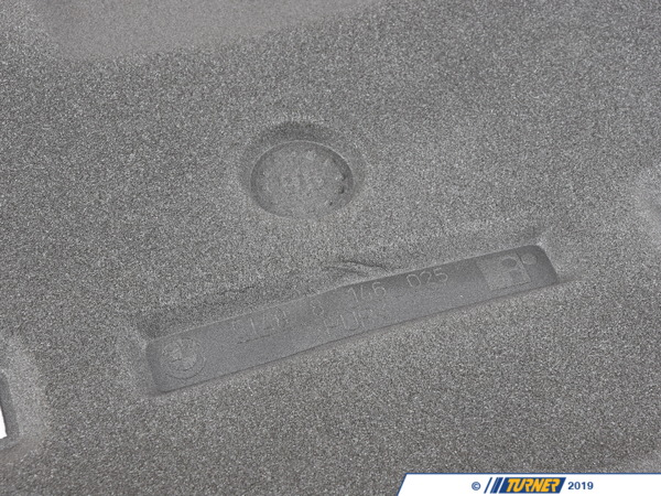 Genuine BMW Genuine BMW Sound Insulating For Trunk Lid - 51488146025 - E36 51488146025