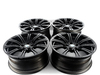 "Genuine BMW E9X M3 19"" BMW Style 220 Jet Black Wheel Set (Genuine BMW) TMS2963"