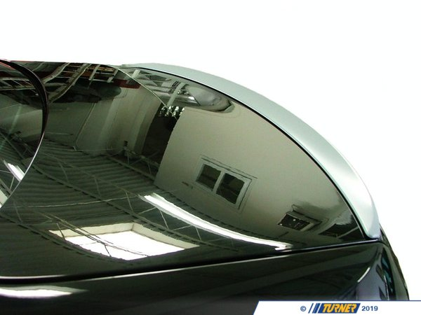 T#144 - 51628044188 - Rear Trunk Lid Spoiler Lip - E92 M3 & all E92 Coupes - This is the Genuine BMW rear trunk deck lid spoiler that is found on the 2008 and newer E92 BMW M3 coupe.  Comes primed, ready to paint. Professional painting and installation recommend.As a courtesy, this spoiler includes the BMW adhesive kit (part# 51-62-8-044-186), which includes a 2-side spoiler adhesive for installing the painted rear spoiler to your BMW.This item fits the following BMWs:2007+  E92 3 Series BMW 328i 328xi 335i 335xi 335is Coupes  - Genuine BMW - BMW