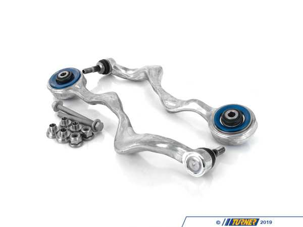Turner Motorsport Front Upper Control Arm Monoball Upgrade - Left and Right - E82, E89, E9X (including M models) TSUE9080QIS-ARMS