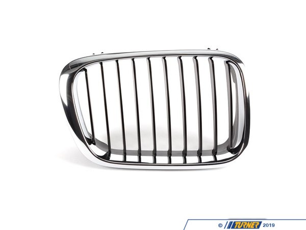 T#8785 - 51138208488 - Genuine BMW Grille Right Schwarz - 51138208488 - E46 - Genuine BMW -