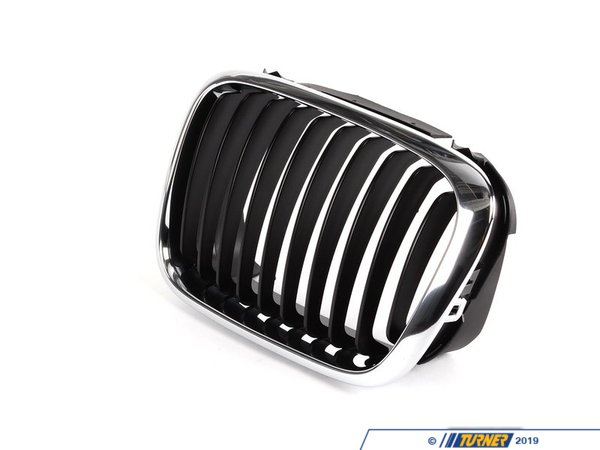 T#8784 - 51138208487 - Genuine BMW Grille Left Schwarz - 51138208487 - E46 - Genuine BMW -
