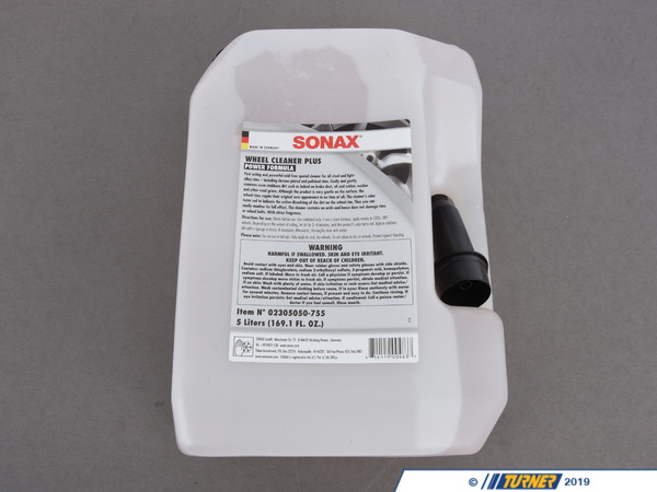 T#554932 - 230505 - Wheel Cleaner PLUS Refill - 5L - SONAX - BMW MINI