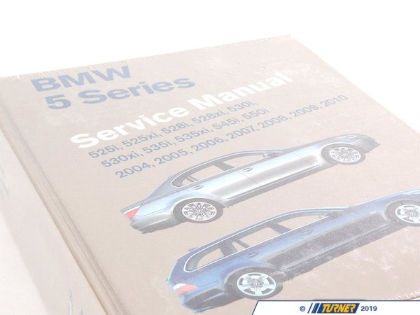T#3003 - B510 - Bentley Service & Repair Manual - E60 BMW 525i, 528i, 530i, 535i, 545i, 550i - Bentley - BMW