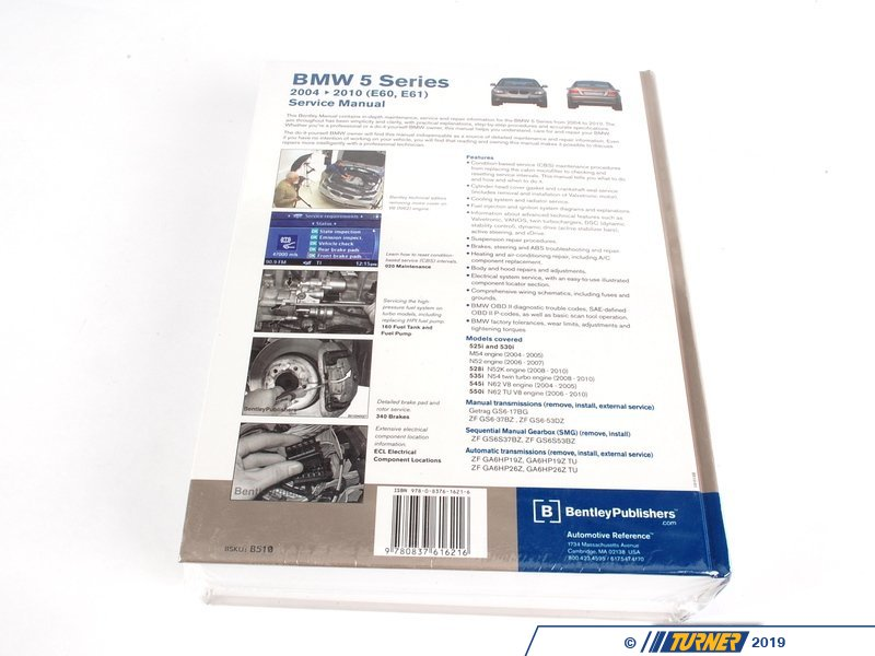 bentley repair manual bmw e60
