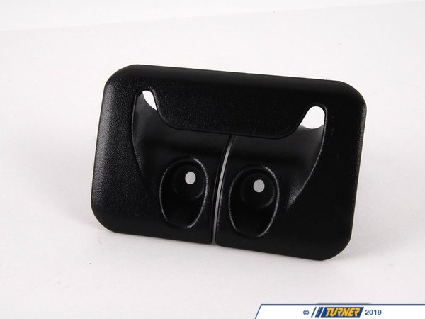 T#132155 - 52208267034 - Genuine BMW Cover, Belt Outlet Schwarz - 52208267034 - E46 - Genuine BMW -